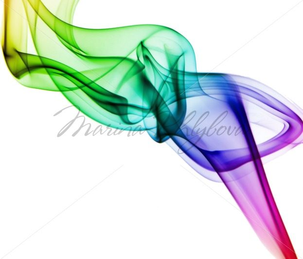 Isolated colored smoke against of white background – Stock photos from around the world