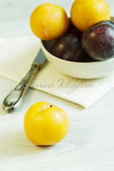 Plums on the table – Stock photos from around the world