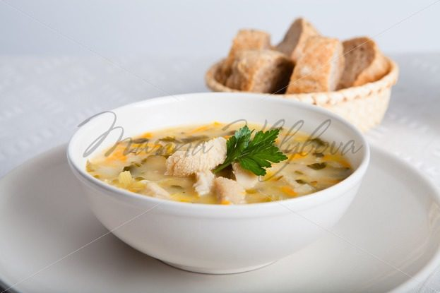 Flaki – soup with tripe – Stock photos from around the world
