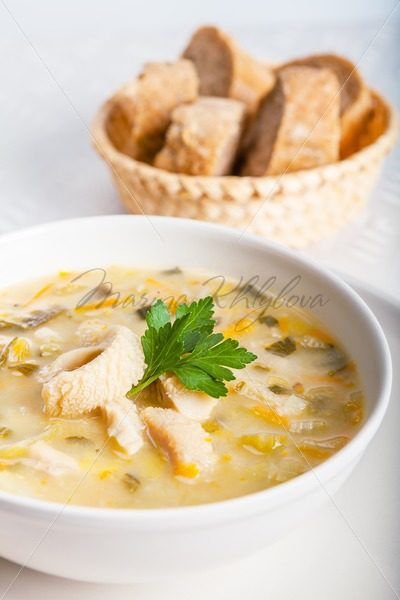 Polish soup and bread – Stock photos from around the world