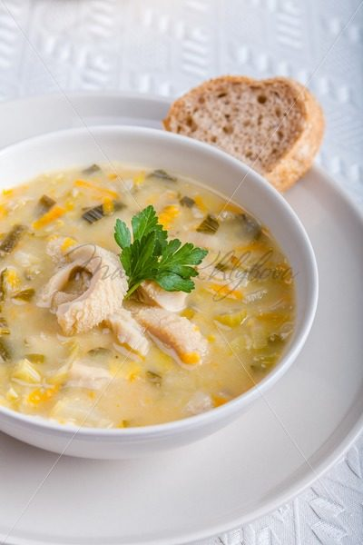 Polish traditional tripe soup – Stock photos from around the world