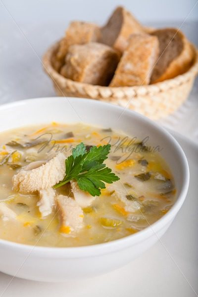 Soup with tripe and vegetables – Stock photos from around the world